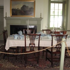 Dining Room in Royer House