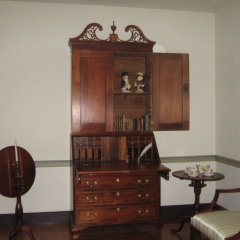 Secretary Desk in Front Parlor