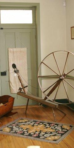 Walking Wheel in Urban Bedroom